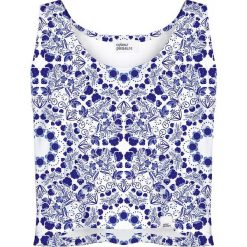 Colour Pleasure Koszulka damska CP-035 6 biało-fioletowa r. XS-S. Bluzki damskie marki Colour Pleasure. Za 64.14 zł.
