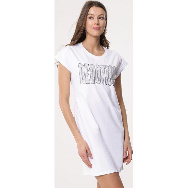 12646fb7d7 Biała Sukienka Independently - Sukienki damskie marki Born2be. Za ...