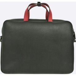Calvin Klein - Torba. Szare torby na laptopa męskie Calvin Klein, w paski, z materiału. W wyprzedaży za 599.90 zł.