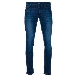 Mustang Jeansy Męskie Oregon Tapered 33/32 Ciemnoniebieskie. Niebieskie jeansy męskie Mustang. Za 398.00 zł.