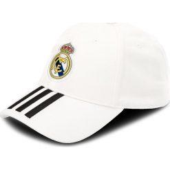 Czapka z daszkiem adidas - Real 3S Cap CY5600 Cwhite/Black. Białe czapki i kapelusze męskie Adidas. Za 69.00 zł.