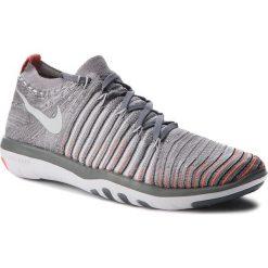 Buty NIKE - Free Transform Flyknit 833410 006 Cool Grey/Pure Platinum. Szare obuwie sportowe damskie Nike, z materiału. W wyprzedaży za 459.00 zł.