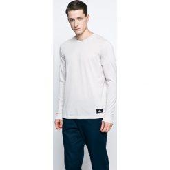 Adidas Performance - Longsleeve. Szare bluzki z długim rękawem męskie adidas Performance, z bawełny, z okrągłym kołnierzem. W wyprzedaży za 79.90 zł.