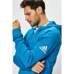 Adidas Performance - Bluza. Niebieskie bluzy męskie adidas Performance, z bawełny. Za 299.90 zł.