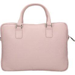Aktówka SURIA. Czerwone torby na laptopa damskie Gino Rossi, w paski, ze skóry. W wyprzedaży za 499.90 zł.