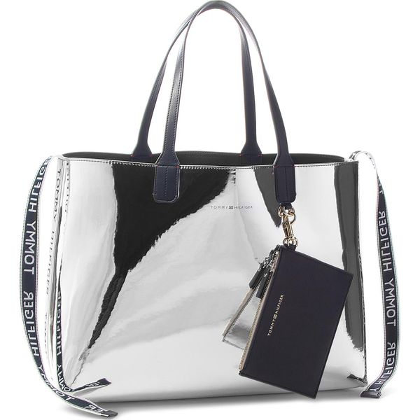 c21761094 Torebka TOMMY HILFIGER - Iconic Tommy Tote Mt AW0AW05830 907 - Torby ...
