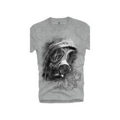 T-shirt UNDERWORLD Ring spun cotton Maska. Szare t-shirty męskie Underworld, z nadrukiem, z bawełny. Za 59.99 zł.