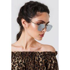 Le Specs Okulary przeciwsłoneczne Revolution - Silver. Szare okulary przeciwsłoneczne damskie Le Specs. Za 242.95 zł.