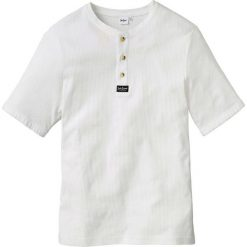 T-shirt Regular Fit bonprix biały. T-shirty męskie marki Giacomo Conti. Za 37.99 zł.