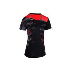 Koszulka H500 czarno-różowa. Czarne t-shirty damskie ATORKA. Za 59.99 zł.