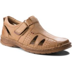 Sandały LASOCKI FOR MEN - MI18-276-05 Beżowy. Brązowe sandały męskie Lasocki For Men, z materiału. W wyprzedaży za 149.99 zł.