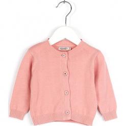 Kardigan w kolorze jasnoróżowym. Swetry dla dziewczynek marki bonprix. W wyprzedaży za 82.95 zł.
