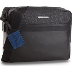 Torba na laptopa TRUSSARDI JEANS - Bocconi Messanger 71B00079 K299. Czarne torby na laptopa damskie TRUSSARDI JEANS, z jeansu. W wyprzedaży za 379.00 zł.