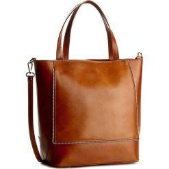 Torebka CREOLE - RBI10138 Koniak. Brązowe torebki do ręki damskie Creole. Za 339.00 zł.