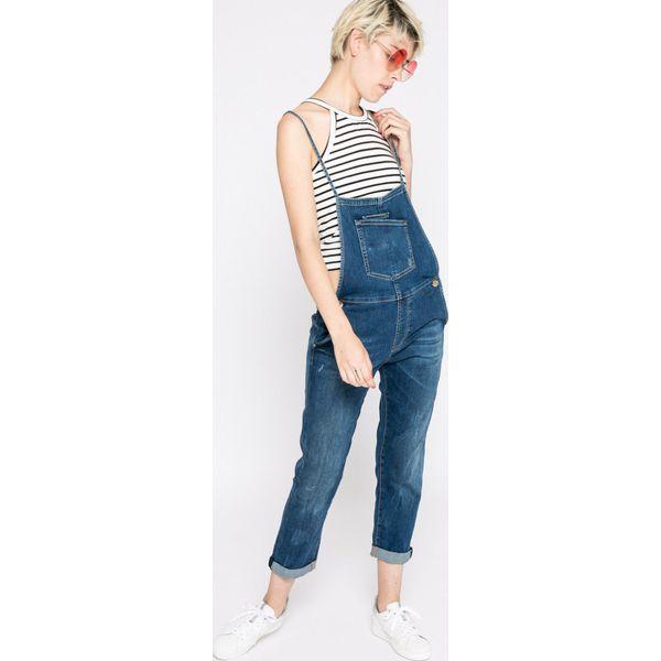 5b7baa1b13bc1 Guess Jeans - Ogrodniczki - Niebieskie jeansy damskie marki Guess Jeans. W  wyprzedaży za 429.90 zł. - Jeansy damskie - Spodnie i legginsy damskie -  Odzież ...