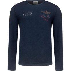 T-shirt AERONAUTICA MILITARE Granatowy. Bluzki z długim rękawem męskie marki Marie Zélie. Za 380.00 zł.
