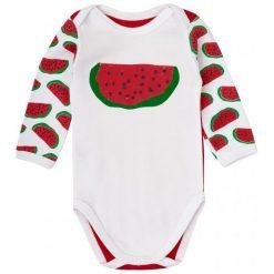 Garnamama Body Dziecięce Z Arbuzami 62 Czerwone. Czerwone body niemowlęce Garnamama, z nadrukiem. Za 33.00 zł.