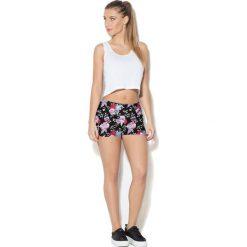 Colour Pleasure Spodnie damskie CP-020 7 różowo-czarno-zielone r. M-L. Spodnie dresowe damskie marki bonprix. Za 72.34 zł.