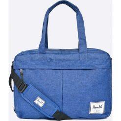 Herschel - Torba. Szare torby na laptopa męskie Herschel, w paski, z materiału. W wyprzedaży za 219.90 zł.