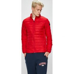 Jack & Jones - Kurtka. Czerwone kurtki męskie Jack & Jones, z materiału. W wyprzedaży za 129.90 zł.