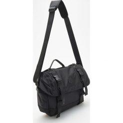 Torba na ramię - Czarny. Czarne torby na ramię męskie Reserved. Za 119.99 zł.
