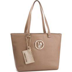 Torebka VERSACE JEANS - E1VSBBV5 70790 148. Brązowe torebki do ręki damskie Versace Jeans, z jeansu. W wyprzedaży za 489.00 zł.