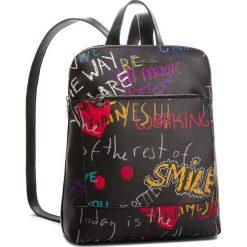 Plecak DESIGUAL - 18WAXPD0 2000. Czarne plecaki damskie Desigual, ze skóry ekologicznej, eleganckie. W wyprzedaży za 249.00 zł.