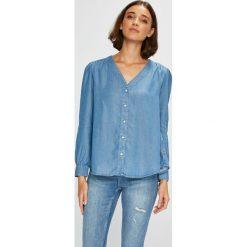 Levi's - Koszula. Brązowe koszule damskie Levi's, z lyocellu, casualowe, z długim rękawem. Za 279.90 zł.