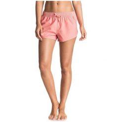Roxy Spodenki Noo Bai Short J Shell Pink M. Różowe szorty damskie Roxy, z materiału, sportowe. W wyprzedaży za 84.00 zł.