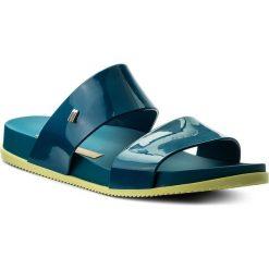 Klapki MELISSA - Cosmic Ad 31613 Blue/Yellow 50540. Niebieskie klapki damskie Melissa, z tworzywa sztucznego. W wyprzedaży za 169.00 zł.