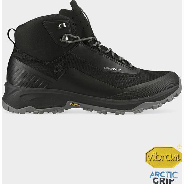 Buty trekkingowe męskie OBMH102 głęboka czerń