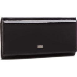 Duży Portfel Damski NOBO - NPUR-LG0030-C020 Czarny Lakier. Czarne portfele damskie Nobo, z lakierowanej skóry. W wyprzedaży za 149.00 zł.