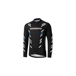 Bluza rowerowa męska Shimano Thermal Print Long Sleeve Jersey XL. Bluzy sportowe męskie Shimano, z jersey. Za 252.69 zł.