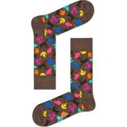 Happy Socks - Skarpety Deer. Brązowe skarpety męskie Happy Socks, z bawełny. Za 39.90 zł.