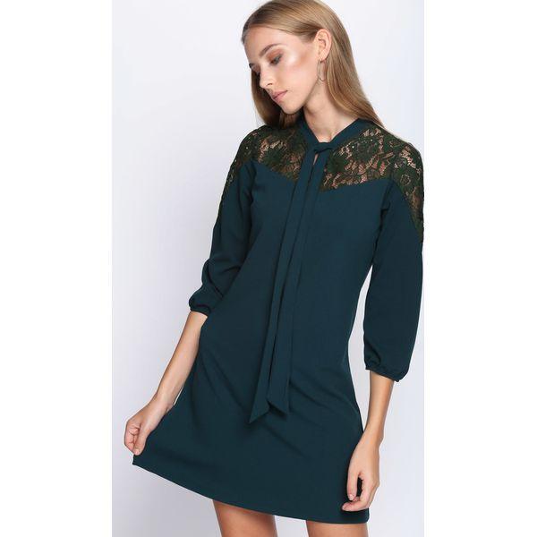 4c06ab07ee Ciemnozielona Sukienka Nighttime - Zielone sukienki damskie marki ...