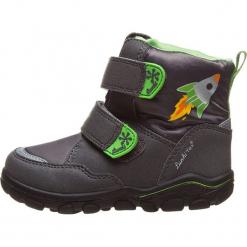 """Botki zimowe """"Kon-Tex"""" w kolorze ciemnoszaro-zielonym. Szare buty zimowe chłopięce Richter, Bundgaard, Lurchi, z materiału. W wyprzedaży za 129.95 zł."""