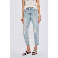 Vero Moda - Jeansy Nineteen. Niebieskie jeansy damskie Vero Moda. W wyprzedaży za 129.90 zł.