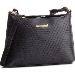Torebka MONNARI - BAGA022-020 Black. Czarne torebki do ręki damskie Monnari, ze skóry ekologicznej. W wyprzedaży za 119.00 zł.