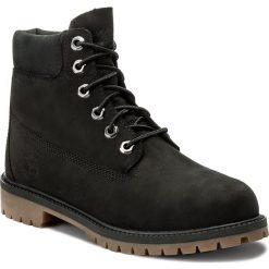 Trapery TIMBERLAND - 6 In Premium Wp Boot A14ZO Black. Buty zimowe chłopięce Timberland, z gumy. W wyprzedaży za 389.00 zł.
