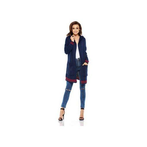 b3a5d4824243be LEMONIADE LS210 Luźny casualowy sweter narzutka - Niebieskie ...