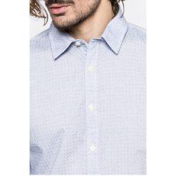 Pepe Jeans - Koszula Ringo. Szare koszule męskie Pepe Jeans, z bawełny, z klasycznym kołnierzykiem, z długim rękawem. W wyprzedaży za 179.90 zł.