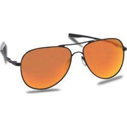 Okulary przeciwsłoneczne OAKLEY - Elmont (Large) OO4119-1360 Satin Black/Prizm Ruby. Czarne okulary przeciwsłoneczne damskie Oakley. W wyprzedaży za 579.00 zł.