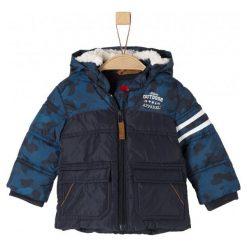 S.Oliver Kurtka Chłopięca 3993_Aw18 86 Niebieski. Niebieskie kurtki i płaszcze dla chłopców S.Oliver, na zimę, eleganckie. Za 169.00 zł.