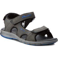 Sandały ELBRUS - Myrios Dark Grey/Blue. Szare sandały męskie ELBRUS, z materiału. W wyprzedaży za 119.00 zł.