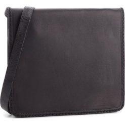 Torebka CLARKS - Teddington Way 261347300  Black Leather. Czarne listonoszki damskie Clarks, ze skóry. W wyprzedaży za 299.00 zł.