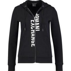 Armani Exchange Bluza rozpinana black. Kardigany damskie Armani Exchange, z bawełny. W wyprzedaży za 426.75 zł.