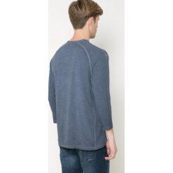 G-Star Raw - Longsleeve. Szare bluzki z długim rękawem męskie G-Star Raw, z bawełny, z okrągłym kołnierzem. W wyprzedaży za 99.90 zł.