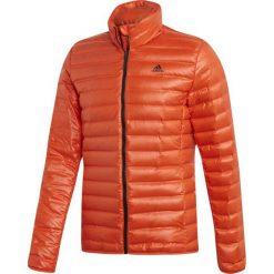 kolorowa kurtka Adidas z kapturem kolekcja zimowa Kurtki