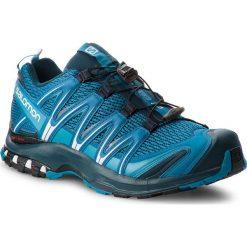 Buty SALOMON - Xa Pro 3D 404713 30 V0 Mykonos Blue/Reflecting Pond/White. Niebieskie buty sportowe męskie Salomon, z materiału. W wyprzedaży za 399.00 zł.