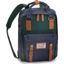 Plecak DOUGHNUT - D010-5065-F  Seaweed x Lake. Niebieskie plecaki damskie Doughnut, z materiału, sportowe. Za 349.00 zł.